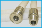 Hygienic Silicone Rubber Hose Assemblies - Platinum Cured Silicone Hose FDA Approved Pharmaceutical Quality