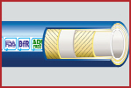 DairyFlex-D Hygienic Rubber Food and Dairy Hose 10 Bar WP Smooth Cover