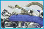 PTFE Hose Assemblies - Smooth bore or Convoluted Bore